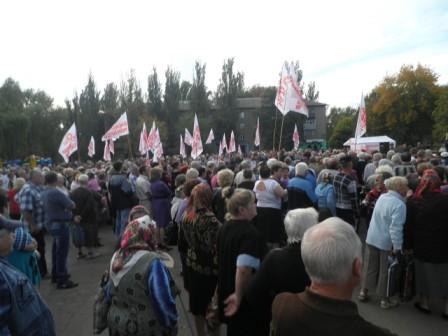 Резолюция митинга. г.Суходольск 22 сентября 2012 г.